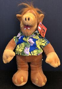 "Alf Plush Stuffed Animal Doll TV Alien 2002 Nanco 11"" Hawaiian Shirt w Hang Tag"
