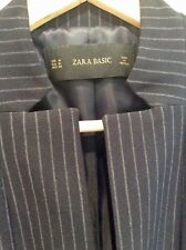 Zara Basic Black pin striped Blazer Size M. New