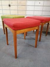 3 Thonet Hocker Original Zustand Design mid century 50er 60er Jahre