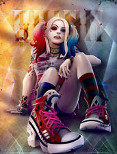 5D Full Diamond Painting Kits Harley Quinn Suicide Squad Kreuzsticken Geschenke