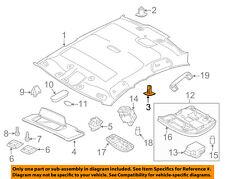 VOLVO OEM 07-16 S80 Interior-Roof-Headliner Clip 39899163