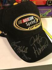 Larry McReynolds & Jeff Hammond Signed Sprint Cup Racing hat