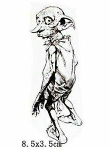 HARRY POTTER Dobby Elf Temporäres Tattoo Wasserfest