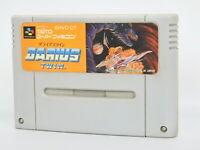 Super Famicom DARIUS TWIN Cartridge Only Nintendo Japan sfc