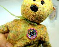 "TY Beanie Babies E ""Speckles"" USA 2000 Teddy Bear 8"" new unused with tag"