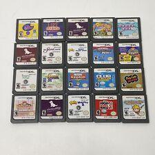 Lot Of 20 Nintendo DS Games Bundle