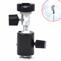 C Type Ball Head Umbrella / Flash Mount / Holder / Bracket Light Stand N