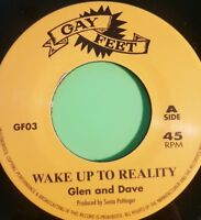 WAKE UP TO REALITY  / MUSICAL PRESSURE GLEN AND DAVE