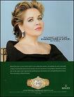 2004 Rolex oyster perpetual watch Renée Fleming opera retro photo print ad ads30
