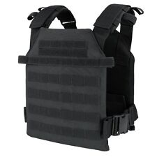 Condor 201042-002 Black Tactical MOLLE Sentry Lightweight Plate Carrier Vest