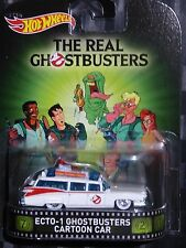 2015 HOTWHEELS - Retro entertainment K - GHOSTBUSTERS Ecto-1 Cartoon car