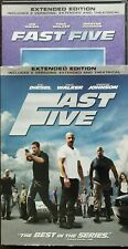 Fast Five (DVD, 2011, Rated/Unrated) Extended Version w/ Slipcover Like New