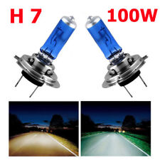 2x 12V H7 100W Xenon Super Bright White Car Head Light LED Lamp Globes Bulbs AU