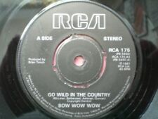 PUNK - BOW WOW WOW - GO WILD IN THE COUNTRY