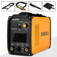 TIG 200A Welding Machine Dual Voltage 110V/220V Portable Welder with LED Display