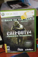 "XBox  360 Call of Duty 4 "" Modern Warfare """