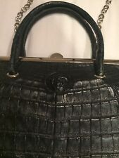 Vintage Gianni Versace Crocodile leather bag