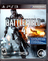 Battlefield 4 (Sony PlayStation 3, 2013) PS3 GAME COMPLETE w/MANUAL, CLEAN