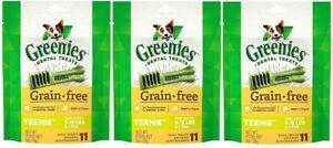 (Pack of 3) Greenies Teenie Grain Free Dental Dog Chews - 3-oz