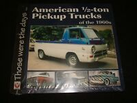 AMERICAN HALF-TON PICKUP TRUCKS OF THE 1960's 2016 P/B NEW & SEALED
