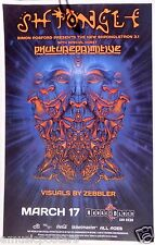 SHPONGLE 2015 SAN DIEGO CONCERT TOUR POSTER - Electronica Music