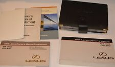 2006 LEXUS GS 430 GS 300 OWNERS MANUAL GUIDE BOOK SET WITH CASE OEM