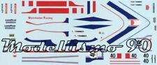 Decal sheet 1/43 Mc Laren M23B F.1 Ford #40 British GP 1978 Tony Trimmer NEW