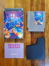 Tetris by Nintendo 1989 NES-EI-USA with Box and Instructions