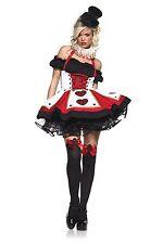 Leg Avenue Queen of hearts gothic lolita Rockabilly cosplay costume Dress XL