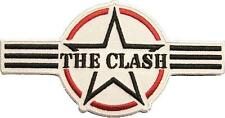 "CLASH / THE CLASH AUFBÜGLER / EMBROIDERY PATCH # 14 ""LOGO"""