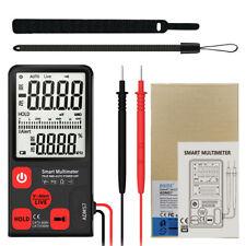 ADMS7 Portable Digital Multimeter Auto AC/DC Voltage Meter Ohm Tester 6000 count