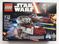 LEGO Obi-Wan's Jedi Interceptor Star Wars 75135 New Sealed