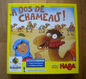 Jeu HABA 3413,  A Dos de Chameau ! / Très bon état