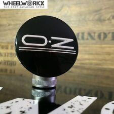 Original OZ Emblem Felgendeckel Center Caps classic black 55 mm 81310464 NEU!