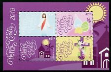 Niuafo'ou 2018 MNH Easter 4v M/S Churches Eggs Religion Stamps