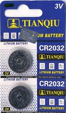 """2 PCs"" GENUINE TIANQIU Lithium Battery 3V-CR2032 -BR2032 ""BRAND NEW"""
