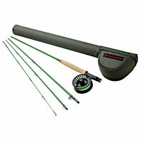 Redington Vice Combo Fly Rod Outfit 6 wt 9' 4 piece