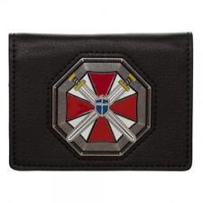 Resident Evil Umbrella Logo 20th Anniversary Metal Badge ID Holder Wallet
