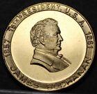 James Buchanan 15th President Bronze Medallion~Old Public Functionary~Free Ship