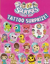 SQUINKIES TATOO SURPIZE - ACTIVITY BOOK WITH 30 CUTE TATTOOS