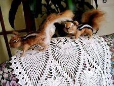 """Handmade Needle Felted CHIPMUNK OOAK  Sculpture 4"""" REALISTIC ART ANIMAL"""