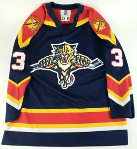 Authentic NHL Hockey Jersey Florida Panthers Paul Laus #3 CCM Center Ice