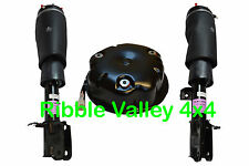 RANGE ROVER VOGUE L322 FRONT AIR SUSPENSION STRUTS AND COMPRESSOR RNB000740 / 50