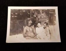 Original Photo of Duke Kahanamoku and Nadine 02/10/47