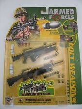 In Toyz Armed Forces 1/6 Scale Colt Weapons Series II