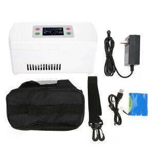 Portable Travel Medicine Freezer Insulin Cooler Fridge Cold Storage Box 2-8°C