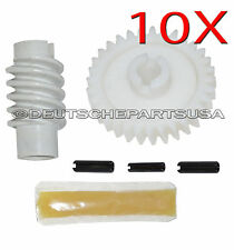 10 x Garage Door Opener LM Drive Gear + Worm Comp F Chamberlain Craftsman 41A281
