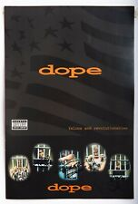 """Dope band 1999 Signed/Autographed 12""""x18"""" Poster Edsel Dope Rare! +Stickers Coa!"""