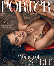 PORTER  Magazine 10 Fall 2015,Daria Werbowy Mikael Jansson True Grit COVER 1 NEW
