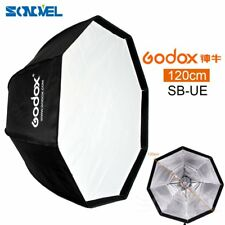 Godox 120cm Octagon Umbrella Softbox Bowens Mount For Studio Strobe Flash Light